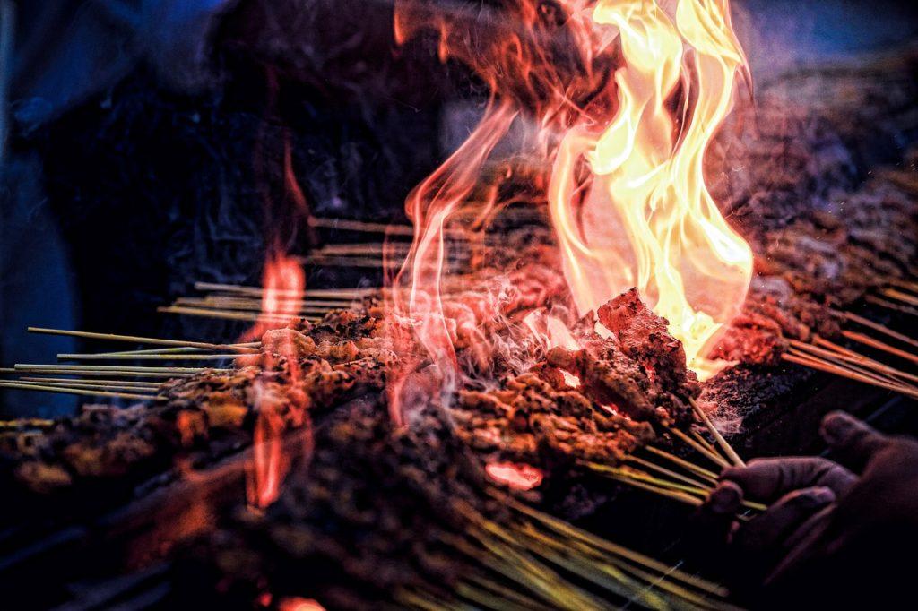 fire, heat, grill